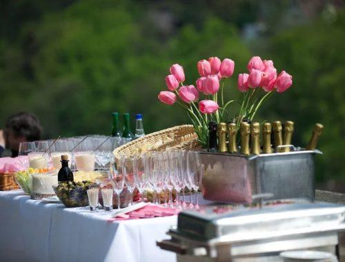 repas mariage avec un traiteur